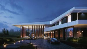 проекты домов с панорамными окнами - панорамные окна в частном доме цена фото