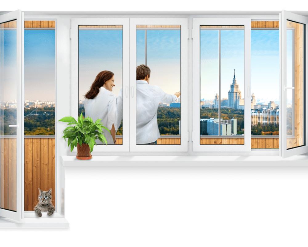 1okna plastikovye standartnye razmery cena 1 Ялта окна VEKA - изготовление и установка окон и дверей
