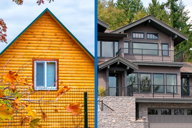 2 small vs big Ялта окна VEKA - изготовление и установка окон и дверей