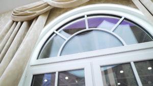 arochnoe okno softline 70 s dekorativnymi elementami 14 Ялта окна VEKA - изготовление и установка окон и дверей