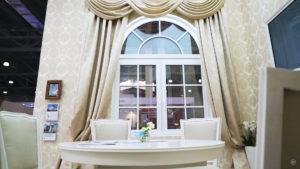 arochnoe okno softline 70 s dekorativnymi elementami 15 Ялта окна VEKA - изготовление и установка окон и дверей
