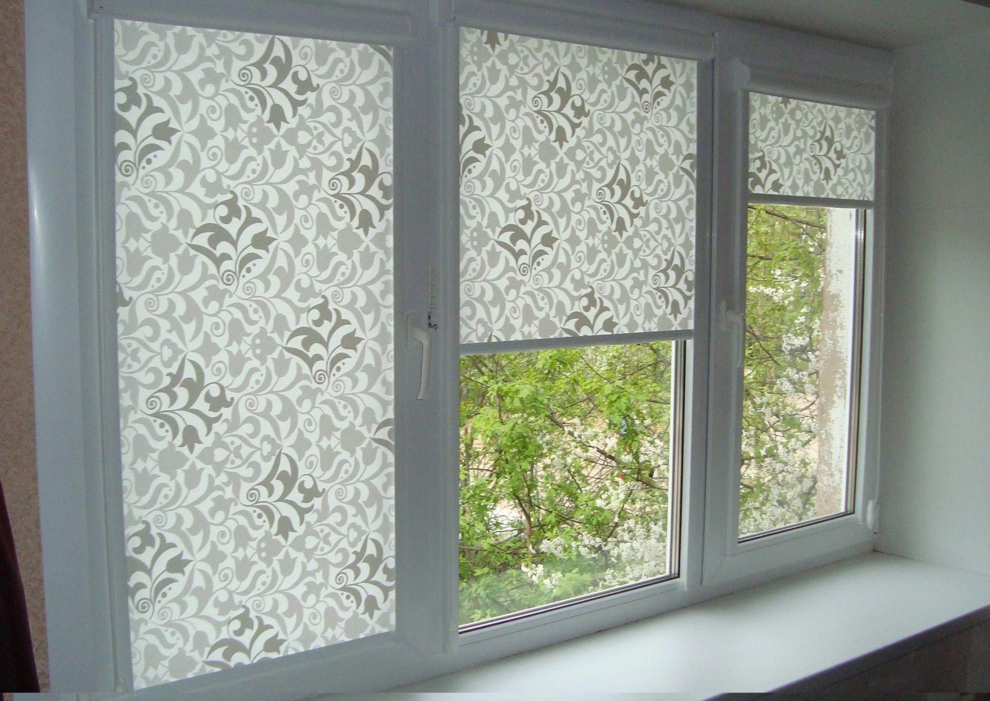 Пластиковые окна шторы роллеты
