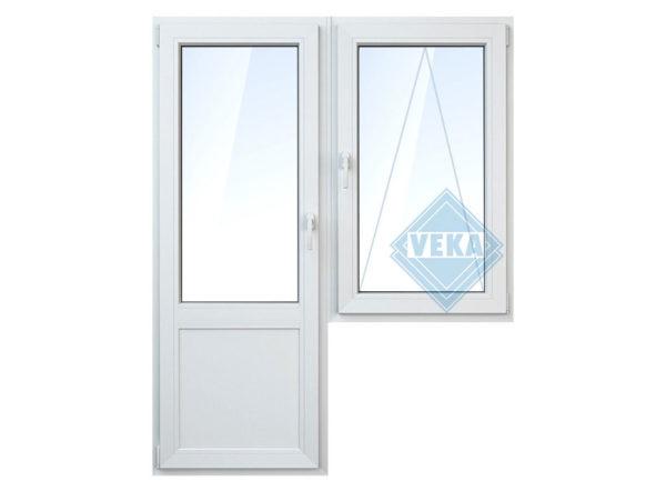 Окно с балконной дверью. Ялта и ЮБК КРЫМ
