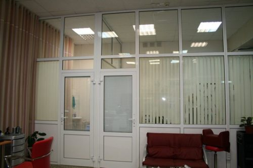 Перегородки для офиса или компании в Ялте и ЮБК