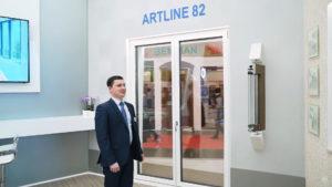 plastikovaya dverj artline 82 1 Ялта окна VEKA - изготовление и установка окон и дверей