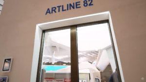 plastikovaya dverj artline 82 3 Ялта окна VEKA - изготовление и установка окон и дверей