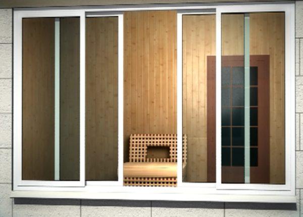 Раздвижные окна в Ялте