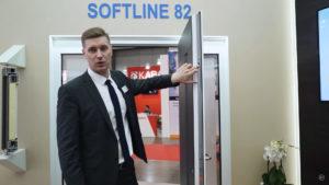 vhodnaya dverj softline 82 md s zapolneniem adeco 4 Ялта окна VEKA - изготовление и установка окон и дверей