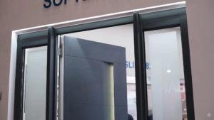 vhodnaya dverj softline 82 md s zapolneniem adeco 9 Ялта окна VEKA - изготовление и установка окон и дверей